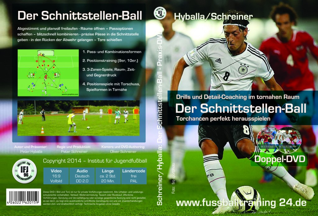 Fussball-DVD Der Schnittstellen-Ball