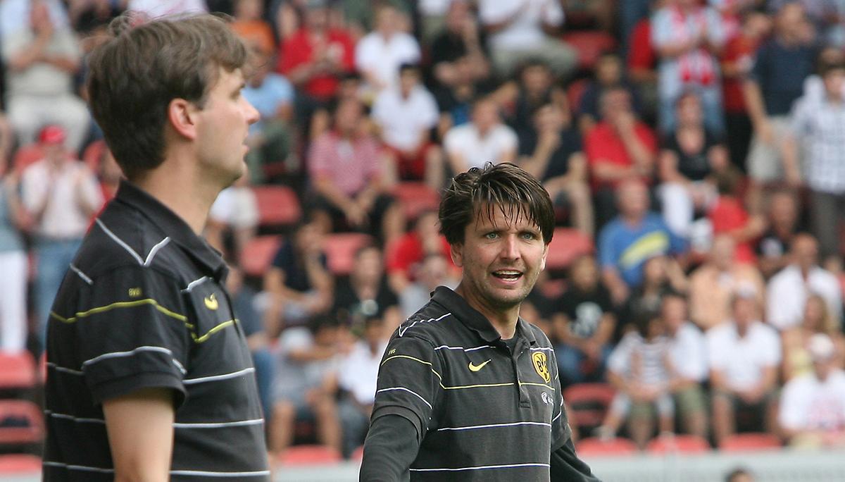 Hier beim BVB - Hyballa-Behnert auch Trainer-Co-Trainer bei Bayer Leverkusen