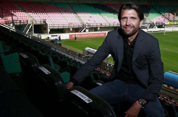 Peter Hyballa im Stadion NEC Nijmegen.