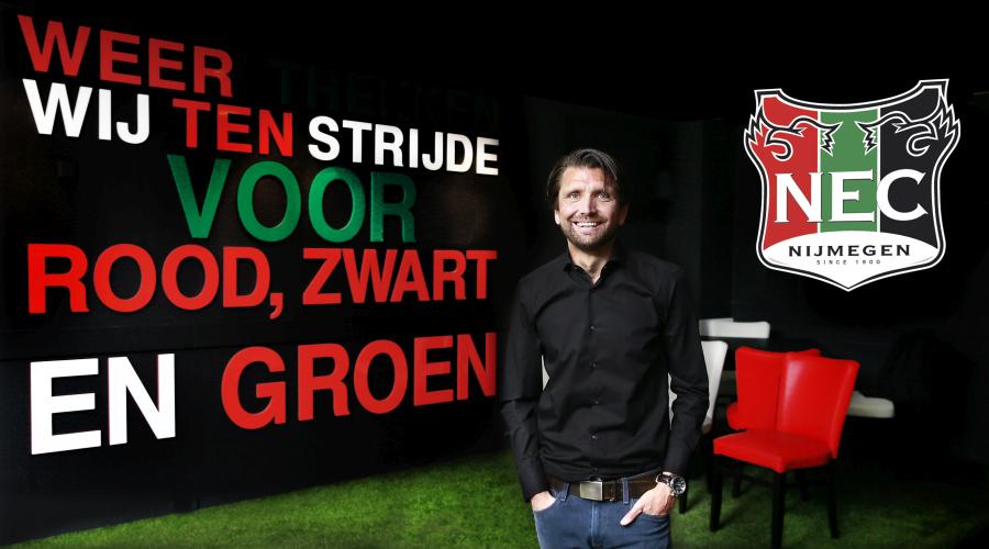 Peter Hyballa neuer Trainer bei NEC Nijmegen. Peter Hyballa